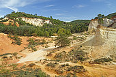 Colorado Provencal, Rustrel, Vaucluse, France