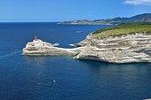 Bonifacio: Lighthouse Madonetta, Corsica, France