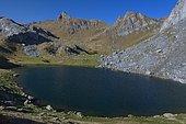Lac Casterau, PN des Pyrénées, Vallée d'Ossau, Pyrénées, France