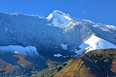 First snow on the Oelharisse and the Plaa to Barbe, Aspe Valley, Pyrenees, France