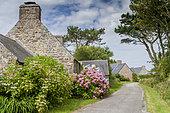 Hameau de Kerroux, Penty, Péninsule de Crozon, Finistère, France