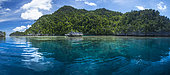 Typical landscape of Raja Ampat, Misool, Indonesia