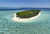 Heron Island. Aerial view. Great Barrier Reef. Queensland. Australia.