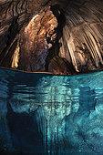 Underwater cave from Misool, Raja Ampat, Indonésie