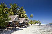 Lagoon of Tetamanu Village, Fakarava, Tuamotu Archipel, French Polynesia