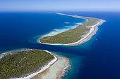 Passe Almonu, Atoll d'Apataki, archipel des Tuamotu, Polynésie française