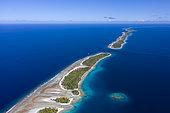Atoll de Kauehi, Fakarava, archipel des Tuamotu, Polynésie française