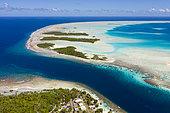 Passe de Tetamanu, Atoll de Fakarava, archipel des Tuamotu, Polynésie française