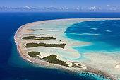 Atoll de Fakarava, archipel des Tuamotu, Polynésie française