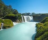 "Waterfalls ""Las nubes"", town of Maravilla Tenejapa. Chiapas, Mexico Long exposure photography."