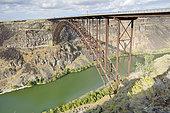I. B. Perrine bridge over the Snake River, Twin Falls, Idaho, USA