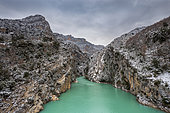 Grand Canyon du Verdon, Sainte Croix lake, Verdon regional natural park, Var, France