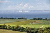 English coasts seen from France, Hervelinghen, Hauts de France