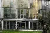 Tropical greenhouse, Botanical Garden of the University of Strasbourg, rue Goethe, Strasbourg, Bas Rhin; France