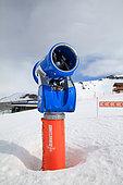 snowgun, les 2 Alpes, Isère, France