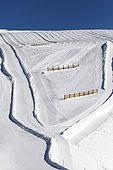 ski run, les 2 Alpes, Isère, France