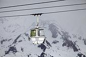 Gondola, les 2 Alpes, Isère, France