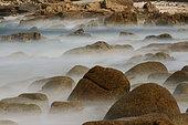 Rocky coast, Courégant Ploemeur, Brittany, France