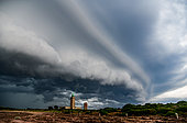 Thunderstorm on Cap Fréhel, Côtes d'Armor, Brittany, France
