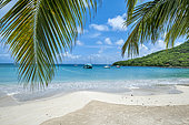 Marcel Cove Beach. Island of Saint Martin, French West Indies