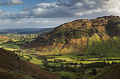 Great Langdale Valley, Lake District, Cumbria, UK. October