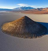Cono de Arita, Salar de Arizaro, Aerial View, Salta, La Puna, Argentina, South America, America