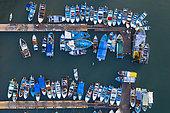 Fishing Harbour, La Cruz de Huanacaxtle, Banderas Bay, Riviera Nayarit, Pacific Ocean, Nayarit State, Mexico, Central America, America