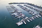 Yatch Marina Riviera Nayarit, La Cruz de Huanacaxtle, Banderas Bay, Riviera Nayarit, Océan Pacifique, État de Nayarit, Mexique