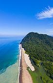 Majaguas hill, Pacific lookouts, Lo de Marcos village, Riviera Nayarit, Pacific Ocean, Nayarit State, Mexico, Central America, America
