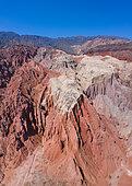Aerial View, Quebrada de las Conchas, Cafayate, Valles y Quebradas, Argentina, South America, America