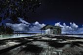 Fisherman's Cabin at night, Fakarava, Tuamotu, French Polynesia