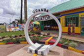 Souvenir stores, Passage of the Equator, Uganda,