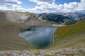 Petite Cayolle Lake, Ubaye Valley, Alps, France