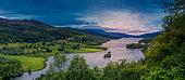 Queen View, Loch Tummel, Perth and Kinross Council area, Scotland
