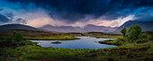 Loch Ba viewpoint, région du Conseil d'Argyll et Bute, Scotland