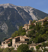Brantes, village at the foot of Mont Ventoux, Provence, France