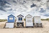 Les Chalets de Blériot-plage, Sangatte, Pas-de-Calais, Opal Coast, France