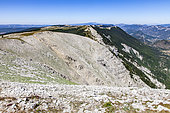 Ridges of the Montagne de Lure, Provence, France