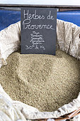 Herbes de Provence on a summer market, Provence, France