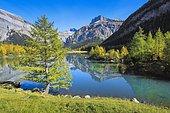 Lac de Derborence and Mont Gond, Valais, Switzerland, Europe