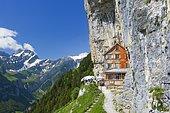 Äscher Wildkirchli, Appenzell Innerrhoden, Switzerland, Europe