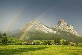 Small and Large Mythen, Schwyz, Switzerland, Europe