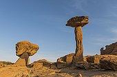 Rock formation, Hoodoo, Ennedi Plateau, Chad, Africa