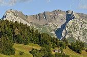 Aravis chain, Haute Savoie, Alps, France