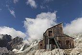 Nacamuli refuge, Collon pass, Aosta Valley, Italy, Europe