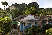 Parc National de Vinales Petites maisons. CUBA