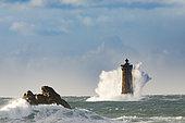 The lighthouse of Porspoder, Bretagne, France