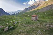 Alpine huts, Ecrins National Park, Hautes-Alpes, France