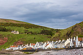 Coastal village of Pennan, Scotland