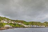 Gardenstown, coastal village of Scotland